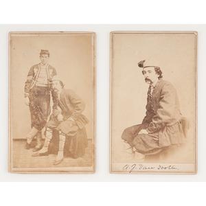 Civil War CDVs of New York Zouaves