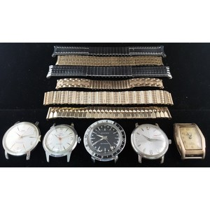 Accutron and Waltham Wrist Watches PLUS