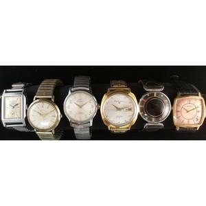 Seiko, Waltham and Cort Wrist Watches PLUS