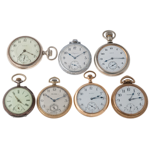 Elgin Pocket Watches PLUS