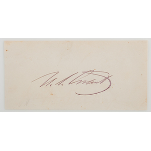 Ulysses S. Grant Clipped Signature