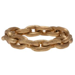 Italian Cable Link Bracelet in 18 Karat Yellow Gold