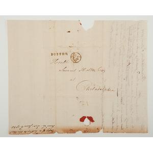 Francis Lightfoot Lee, Revolutionary War-Dated ALS, 1783