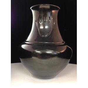 Sharon Naranjo Garcia (Santa Clara, b. 1951) Blackware Pottery Jar