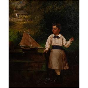 John George Brown (English-American, 1831-1913)