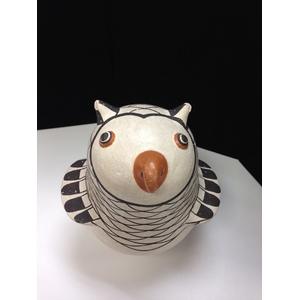 Anita Lowden (Acoma, act. 1930s-1970s) Pottery Owl