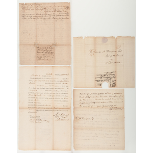 Signers of the Declaration of Independence and US Constitution, Autograph Group Incl. Mchenry, Read, Gorham, & More