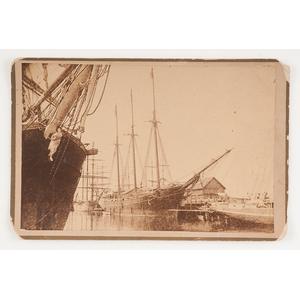 Cabinet Photograph of USS Hartford