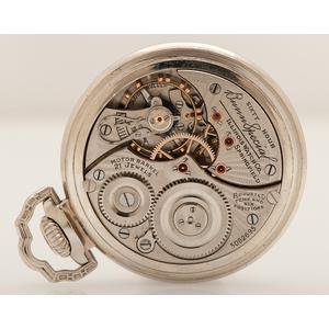 Illinois Bunn-Special Type III Sixty Hour Railroad Watch