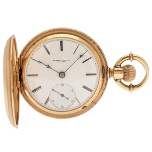 Rockford Watch Co. 18 Karat Hunter Case Pocket Watch