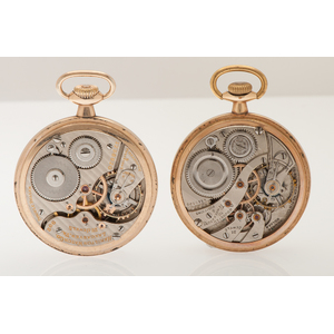 Hamilton and Burlington Railroad Pocket Watches