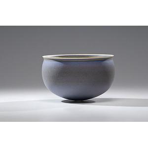 Alev Ebuzziya Siesbye, Purple Stoneware Bowl