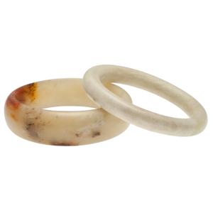 Chinese Jade Bangle Bracelets