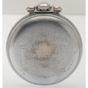 Hamilton G.C.T. Military Pocket Watch Ca. 1942