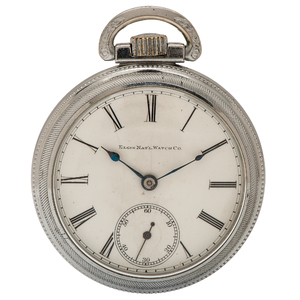 Elgin Father Time 21 Jewel Pocket Watch Ca. 1901