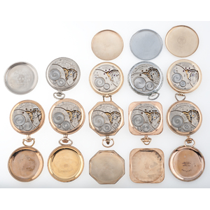 Elgin Size 12 Pocket Watches