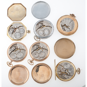 Waltham Size 12 Open Face Pocket Watches PLUS