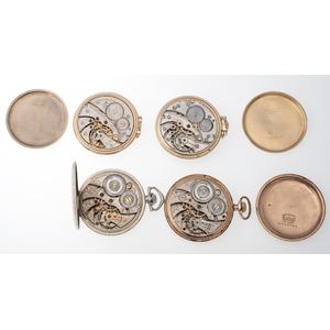Bulova and Illinois Open Face Pocket Watches
