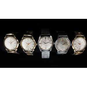 Waltham Automatic Wrist Watches Ca. 1960's PLUS