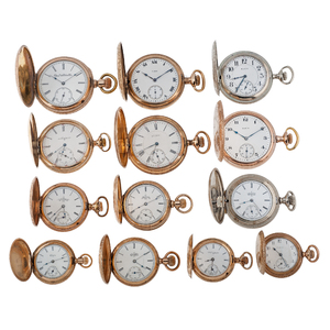 Elgin Hunter Case Pocket Watches