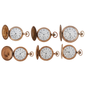 Waltham Hunter Case Pocket Watches Ca.1910
