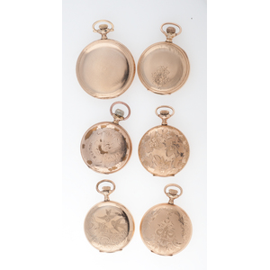 Waltham Hunter Case Pocket Watches Ca.1910