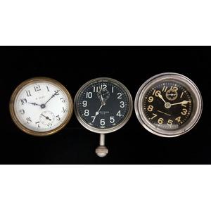 Waltham and Phinney-Walker Car Clocks PLUS