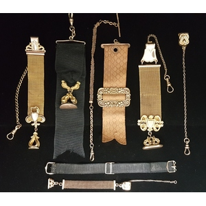 Antique Watch Straps and Fobs