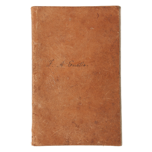 South Carolina Slave Owner Frederic A. Eustis Journal, Slave Log, and More Related to the Eustis Plantation, Ca 1862-1865