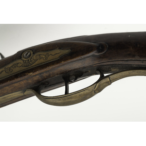 Full-stock Kentucky Flintlock Rifle Attributed to Frederick Sell