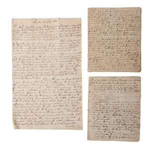 Waterloo General Sir Edward Charles Whinyates Papers, Incl. Documents Mentioning a Severe Wound Received at Waterloo