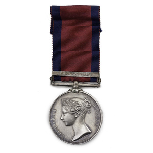 Very Rare British Military General Service Medal for an Indian Warrior in the War of 1812