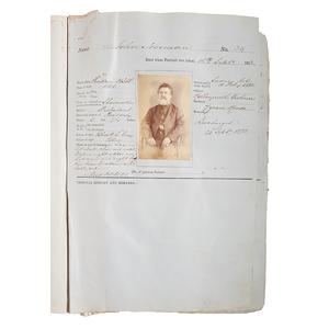 Darlinghurst Gaol Photographic Prisoner Records Featuring Australian Bushranger, Frank Gardiner Plus Other Convicted Felons, Ca 1873-1874