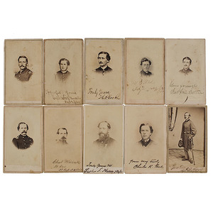 A Collection of  2nd New Jersey Infantry CDVs
