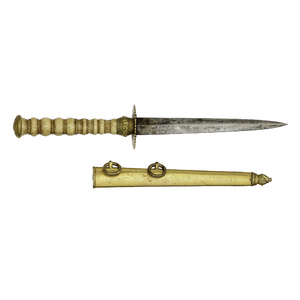 American Naval Officer's Dirk With Eagle and Anchor Pommel