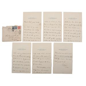 General Douglas MacArthur, Romantic Letter to his Future Wife, Louise Cromwell Brooks MacArthur, Plus Other Scandalous Correspondence