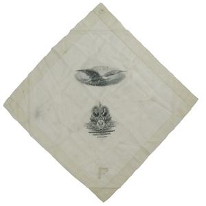 Lewis & Clark Centennial Exposition Silk Handkerchief