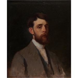 Frank Duveneck (American, 1848-1918), Portrait of Joseph Henry Gest