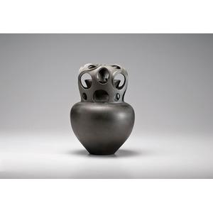 Christine Nofchissey McHorse, Vesuvius Abstract Ceramic