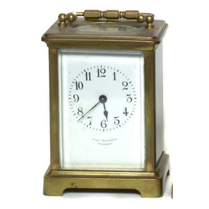 Frank Herschede Carriage Clock,