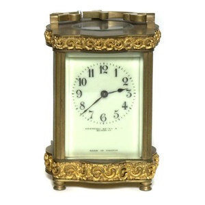 Henneger, Bates Carriage Clock,