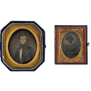 Brigadier General Edward Dorr Tracy, Jr., Confederate and His Slave