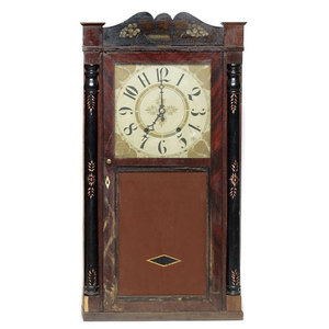 Marsh, Williams, & Co. Dayton, Ohio Shelf Clock,