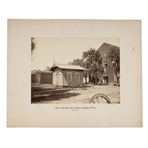 Brady Full Plate Photographs of the Navy Ordnance Yard, Washington D.C.