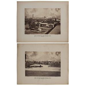 Brady Full Plate Photographs of the Navy Ordnance Yard, Washington D.C, 1866