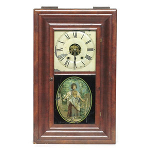 Seth Thomas Ogee Shelf Clock,