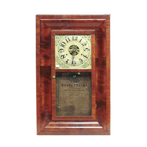 Pritchard and Holden Dayton Ohio Ogee Shelf Clock,