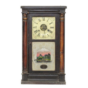 Seth Thomas Plymouth Hollow Ct. Shelf Clock,