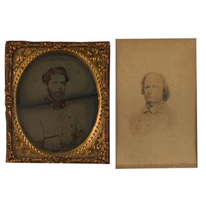 Two Framed Confederate Images