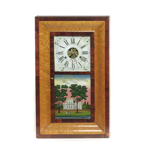 Fine Prichard & Holden Dayton Ohio Ogee Shelf Clock,